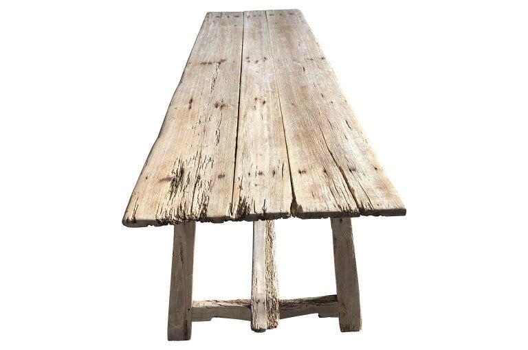 17th Century Catalan Farm Table For Sale 1