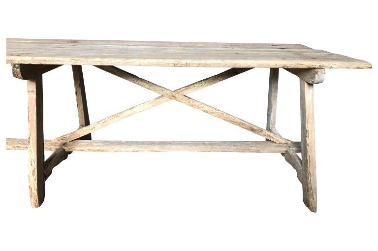 17th Century Catalan Farm Table For Sale 3