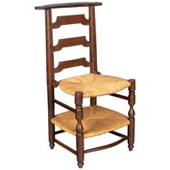 17th Century Country French Prie-Dieu Chair