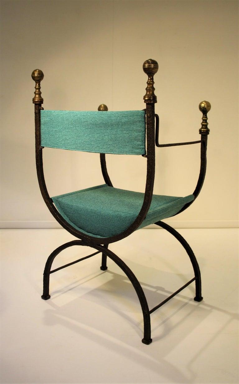 17. Jahrhundert Kurulischer Stuhl 6