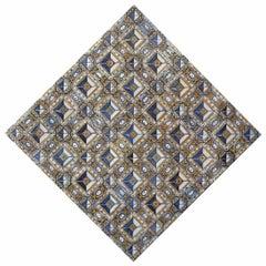 17th Century Diamond Pattern Azulejos