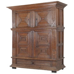 17th Century Dutch Renaissance Period Cabinet