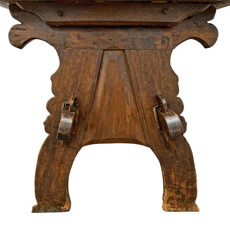 17th Century Dutch Trestle Table For Sale 5