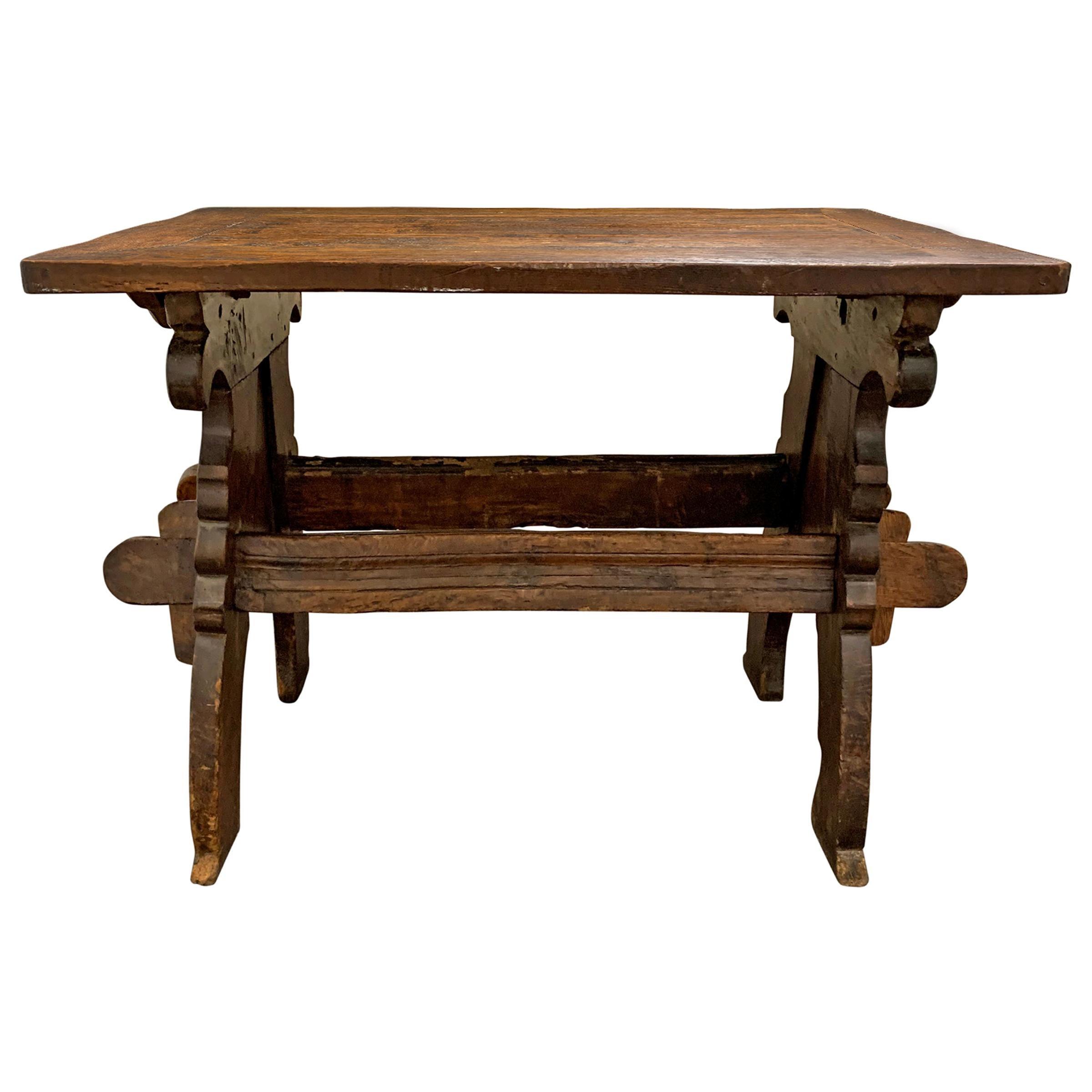 17th Century Dutch Trestle Table