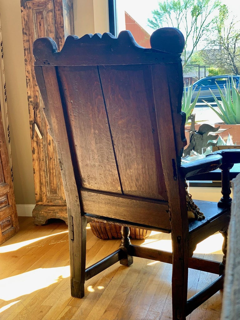 Late 17th Century 17th Century English Jacobean Armchair For Sale