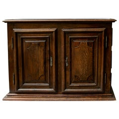 17th Century English Oak Cupboard
