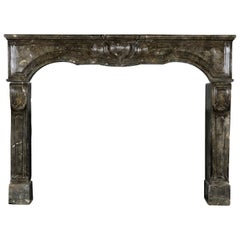 17th Century Fine European Antique Fireplace Surround