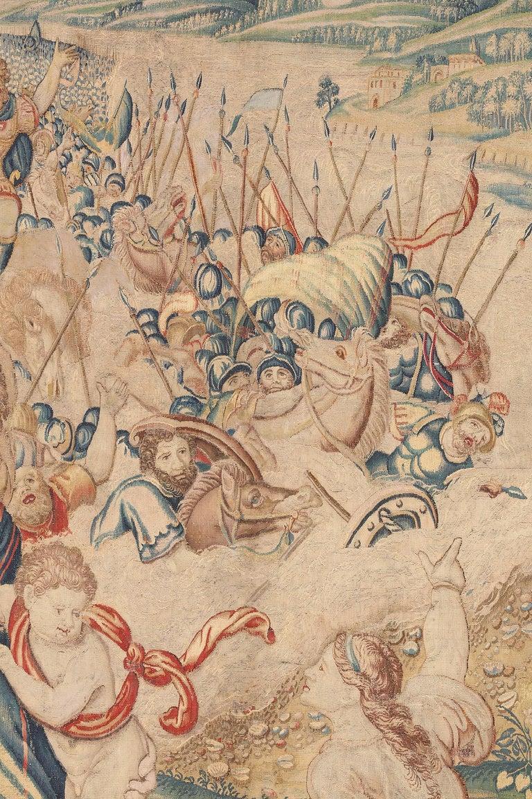 Belgian 17th Century Fine Tapestry of Bruxelles