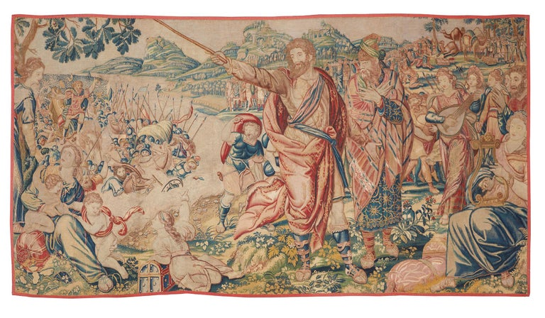 18th Century and Earlier 17th Century Fine Tapestry of Bruxelles