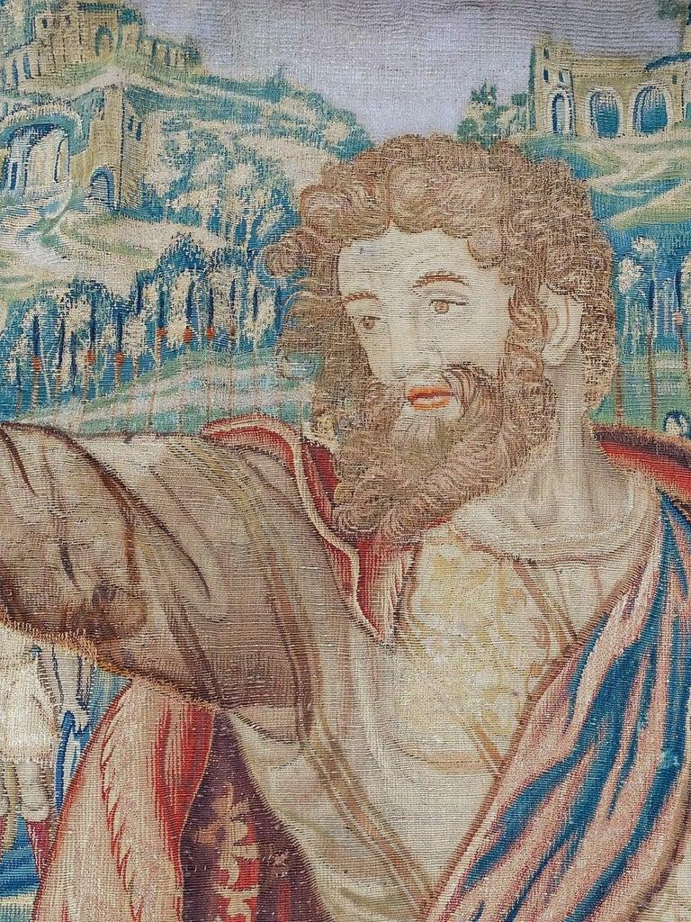Greco Roman 17th Century Fine Tapestry of Bruxelles