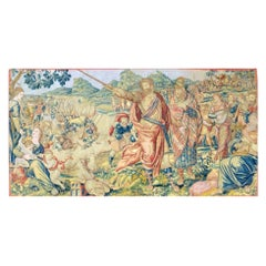 """17th Century Fine Tapestry of Bruxelles """"Moses and the Crossing of the Red Sea"""""""