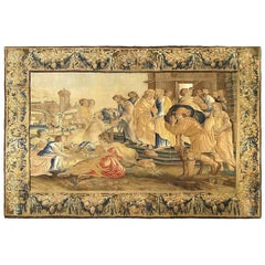 17th Century Flemish Allegorical Tapestry