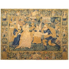 17th Century Flemish Historical Tapestry