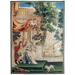 17th Century Flemish Tapestry. Size: 6 ft 6 in x 9 ft 1 in (1.98 m x 2.77 m)