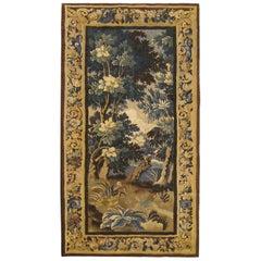 17th Century Flemish Verdure Landscape Tapestry
