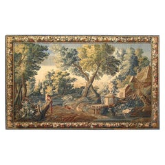 17th Century French Aubusson Verdure Tapestry