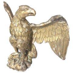 17th Century French Gitlwood Eagle