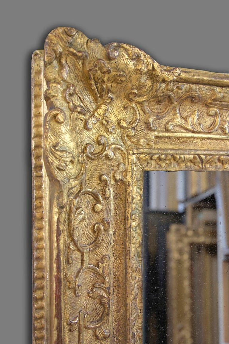 17th Century French Late Louis XIV- Early Régence Frame