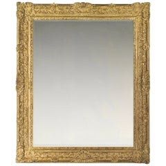 17th Century French Late Louis XIV- Early Régence Frame, with Choice of Mirror