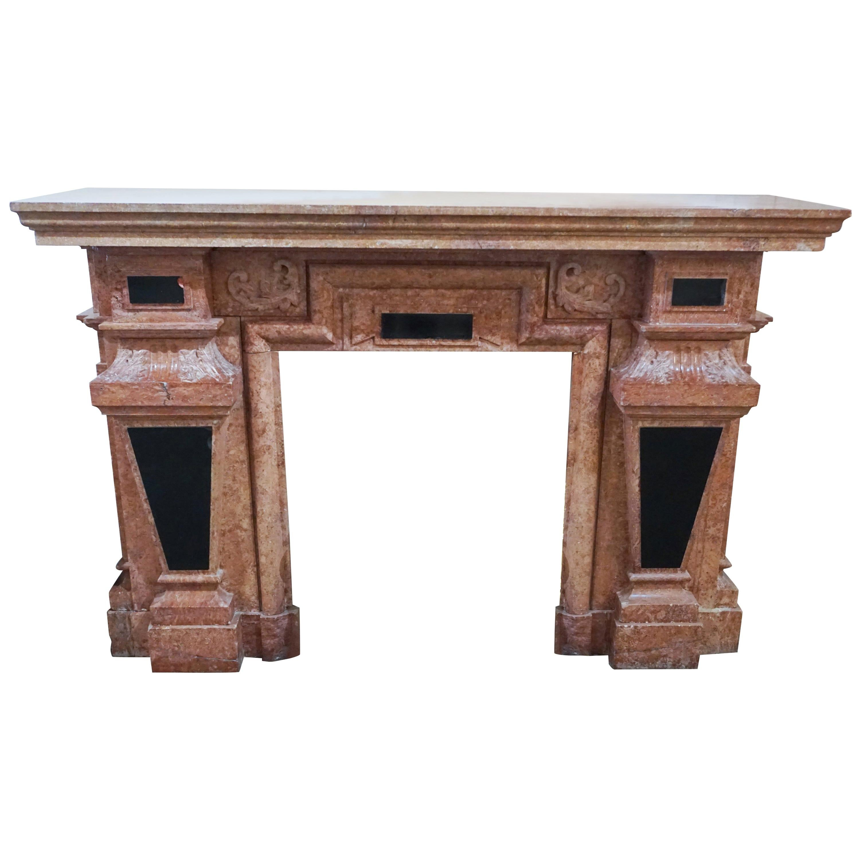17th Century French Marble Mantel