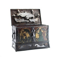 17th Century German Strong Box