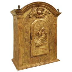 17th Century Giltwood Tabernacle from Italy