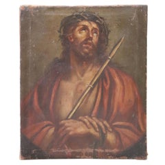 17th Century Italian Artist Jesus with the Crown of Thorns