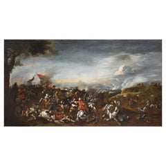 17th Century, Italian Battle between Turks and Christians
