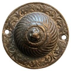 17th Century Italian Bronze Horse Bit Boss