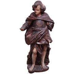 17th Century Italian Carved Figure