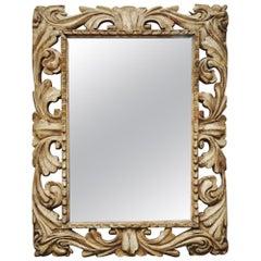 17th Century Italian Carved Mirror