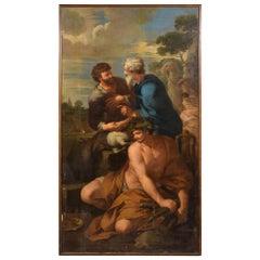 17th Century, Italian Follower of Pietro da Cortona, Alliance of Jacob and Laban