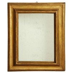 17th Century Italian Giltwood Wall Mirror