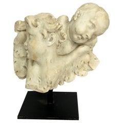 17th Century Italian Marble Putti Sculpture