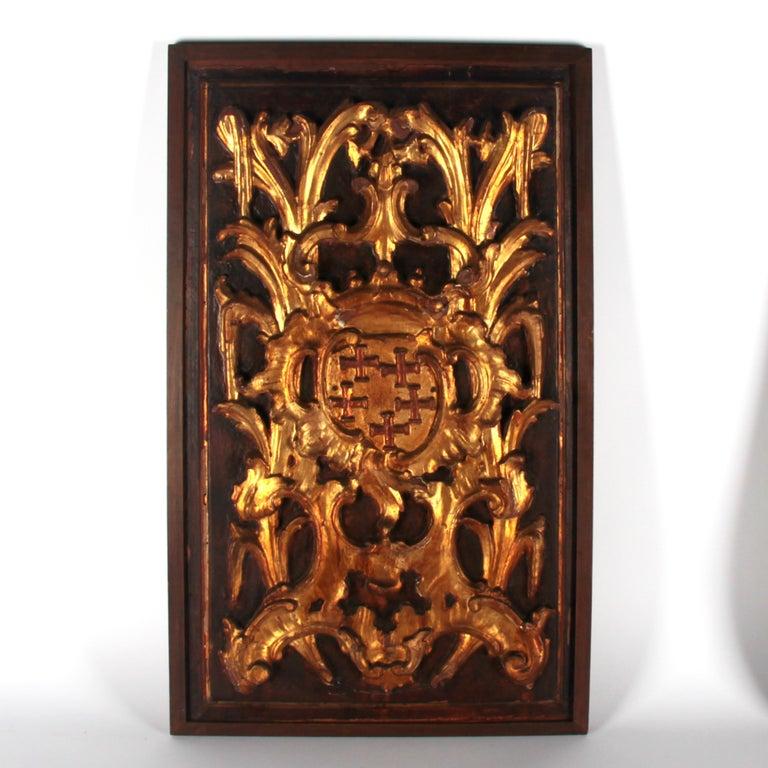 17th Century Italian Panels In Fair Condition For Sale In Esbeek, NL
