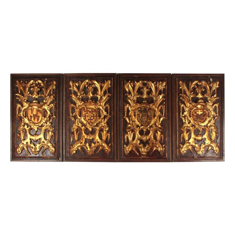 17th Century Italian Panels For Sale