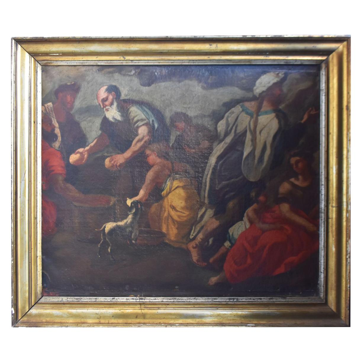 17th Century Italian School Biblical Scene