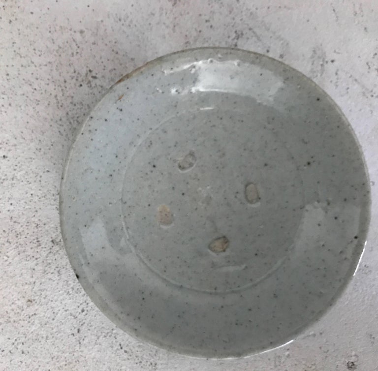 18th Century and Earlier 17th Century Japanese Porcelain Plate found in Tokyo, Japan  For Sale
