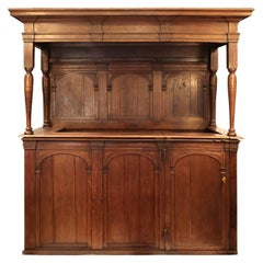 17th Century Large Dutch Private Pew Currently Converted into a Bar