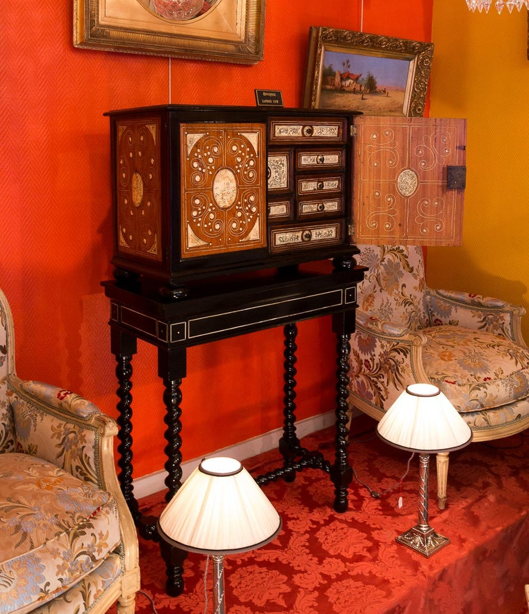 17th Century North-Italian Collectors Cabinet, circa 1650-1690 For Sale 10
