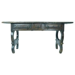 17th Century Oak Spanish Refectory Table