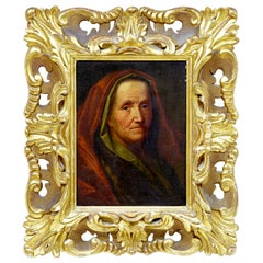 17th Century Oil on Board of Lady Attributed to Balthasar Denner