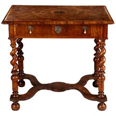 17th Century Olive Oyster Table