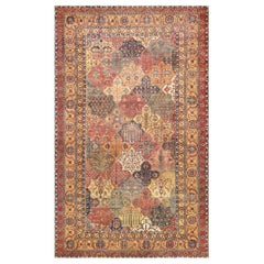 17th Century Persian Khorassan Carpet. Size: 9 ft 10 in x 15 ft 9 in