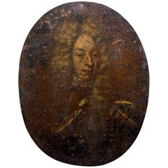 17th Century Portrait Oil Painting of a Nobleman