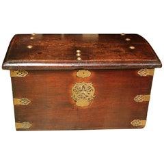 17th Century Portugese Mahogany Chest or Box