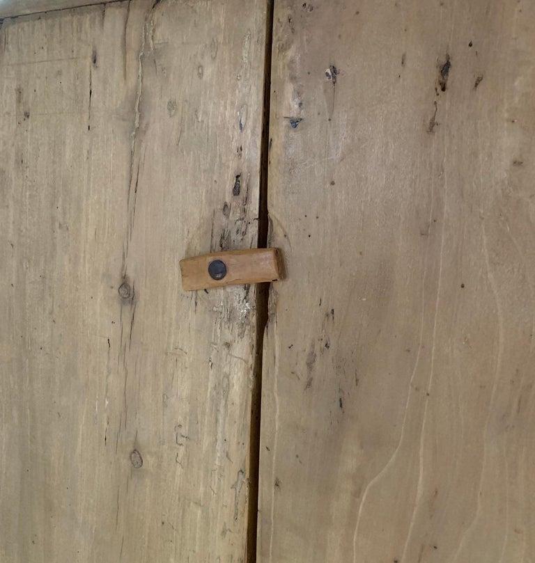 Poplar 17th Century Pyrinee Cupboard For Sale