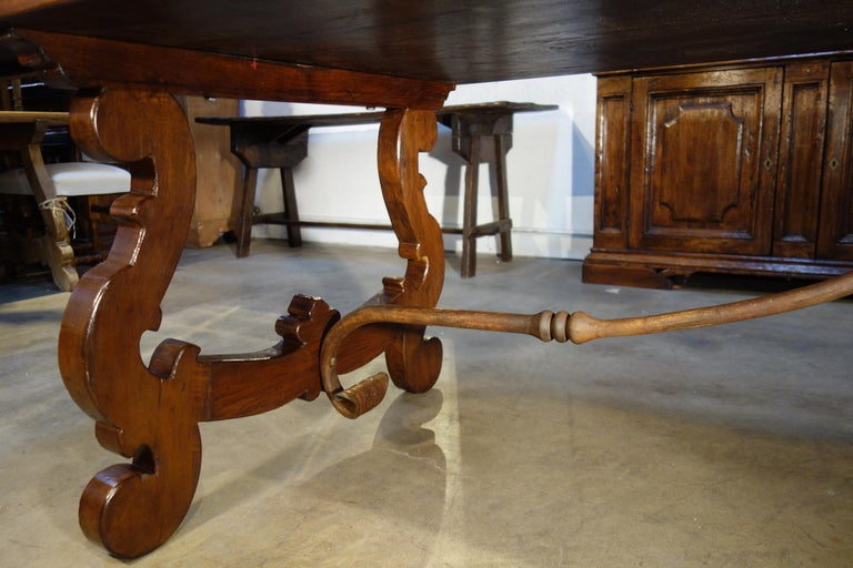 17th Century Refectory Style Dining Table with End Extensions, Custom Sizes For Sale 4