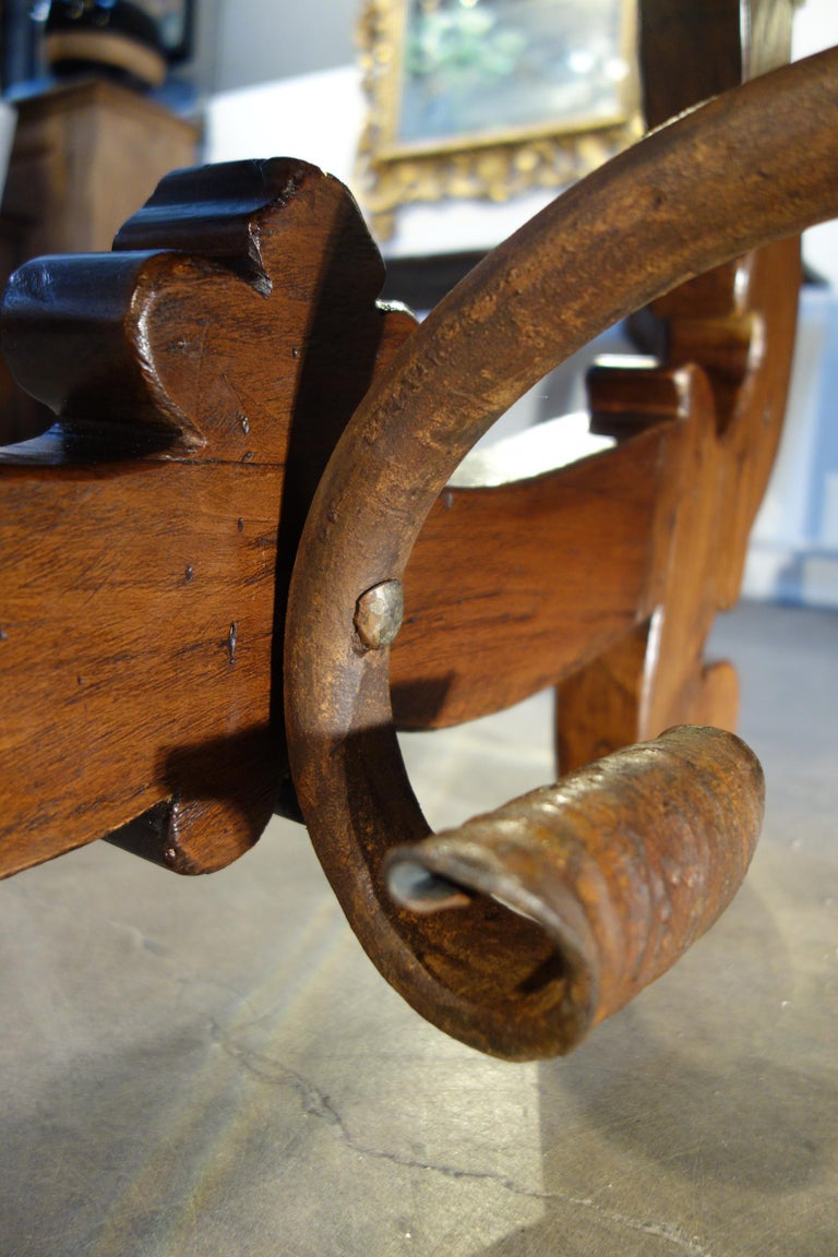 17th Century Refectory Style Dining Table with End Extensions, Custom Sizes For Sale 5