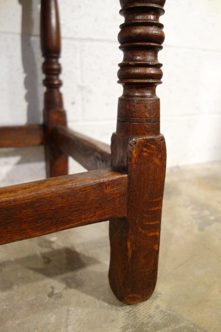 17th Century Renaissance Style Italian Chestnut Leggio Music Desk Lectern Table For Sale 7